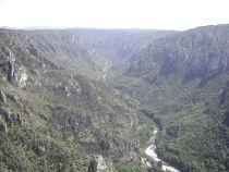 Gorge du Tarn upstream